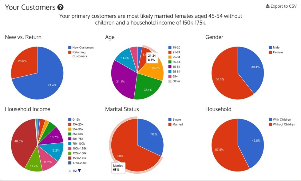 View Dashboard - Demographics cropped